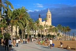 Barcelona Beach Area